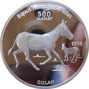 500 Manat (Onager) – reverse