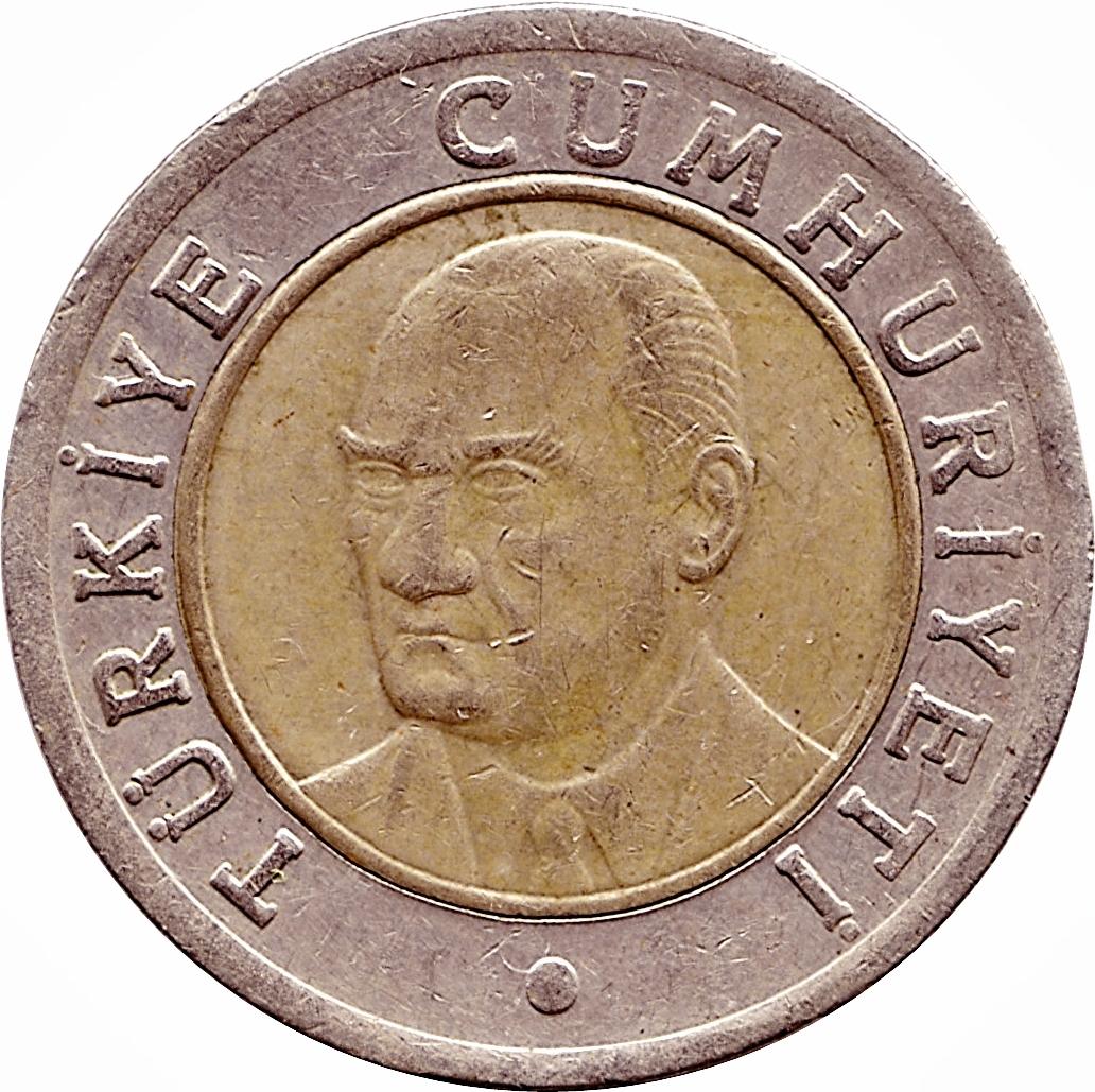 1 Yeni Lira - Turkey – Numista