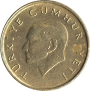 25 Bin Lira -  obverse
