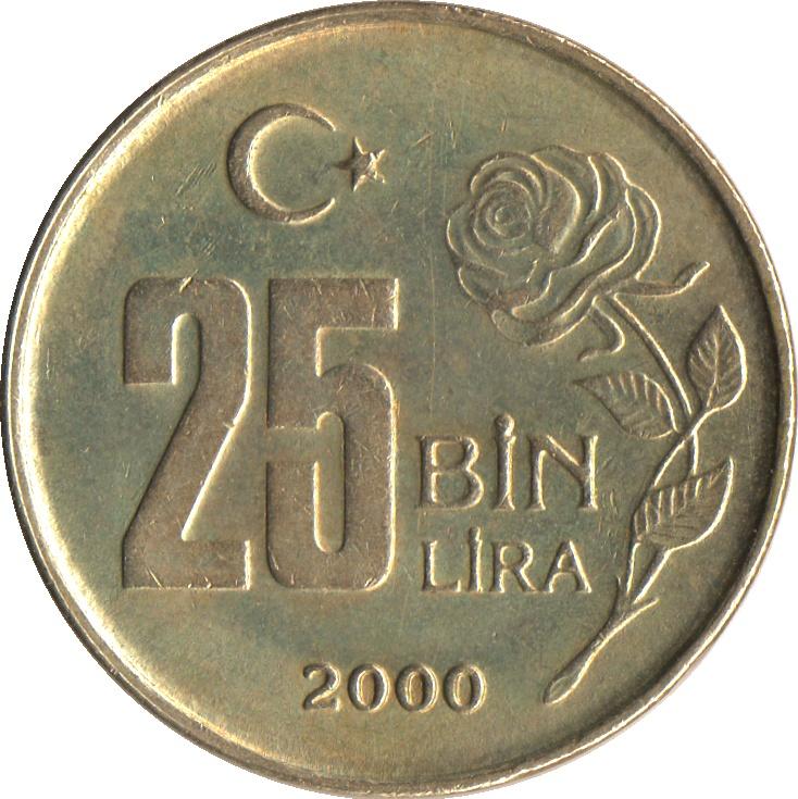 25 bin lira 1996 цена советские рубли картинки