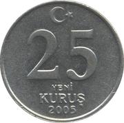25 Yeni Kuruş -  reverse
