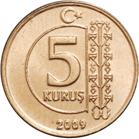 5 Kuruş -  reverse