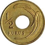 ½ Kuruş – reverse