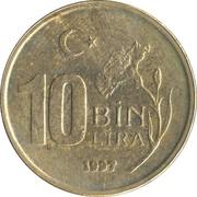 10 Bin Lira -  reverse