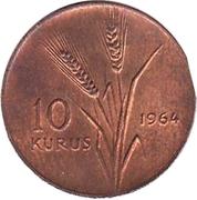 10 Kuruş -  reverse