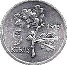 5 Kuruş (FAO) – reverse