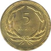 5 Kuruş – reverse