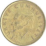 100 Lira -  obverse