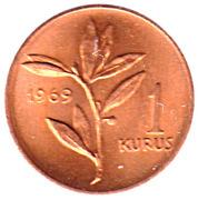 1 Kuruş -  reverse