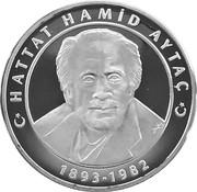 25 Yeni Lira (Hattat Hamid Aytaç) – reverse