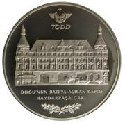 25 Yeni Lira (Devlet Demiryollari 150th Anniversary) – reverse