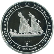 20 Lira (Kılıç Ali Paşa) – obverse