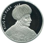 20 Lira (Kılıç Ali Paşa) – reverse