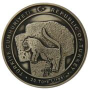 20 Lira (Year of Göbekli Tepe) – obverse