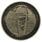 20 Lira (Year of Göbekli Tepe) – reverse
