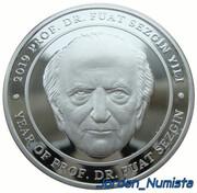 20 Lira (Year of Prof. Dr. Fuat Sezgin) – reverse
