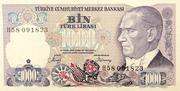 1,000 Lira – obverse