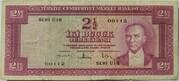2½ Lira (red reverse) – obverse