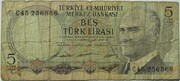 5 Lira – obverse