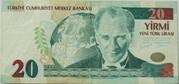 20 New Lira – obverse