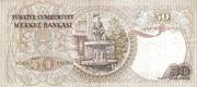 50 Lira – reverse