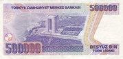 500 000 Lira – reverse