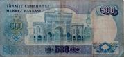 500 Türk Lirası – reverse