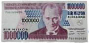 1,000,000 Lira – obverse