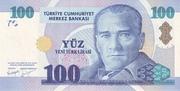 100 New Lira – obverse