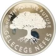 "20 Lira (Forestry ""Breath for the Future"") – reverse"