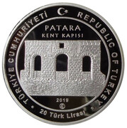 20 Lira (Ancient City of Patara) – obverse