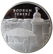 20 Lira (Bodrum Lighthouse) – reverse