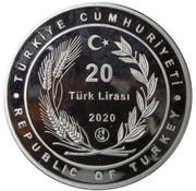 20 Lira (Breath for the Future nr.1) – obverse