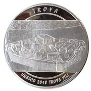 20 Lira (Unesco - World Heritage Year of Troy) – reverse