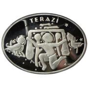 25 Yeni Lira (Zodiac - Libra) – reverse