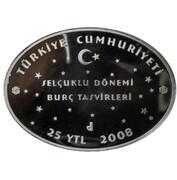 25 Yeni Lira (Zodiac - Gemini) – obverse