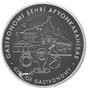 20 Lira (Afyonkarahisar - Gastronomy City) – reverse