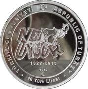 20 Lira (Nejat Uygur) – obverse