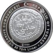 20 Lira (Orhan Gazi) – obverse