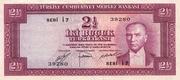 2½ Lira (Purple reverse) -  obverse