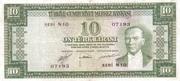 10 Lira (Red reverse) – obverse