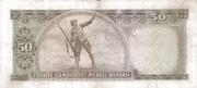 50 Lira (Gray reverse) – reverse