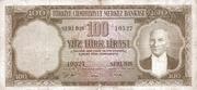 100 Lira (Brown reverse) – obverse