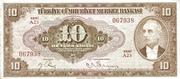 10 Lira (Brown) – obverse