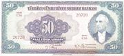 50 Lira – obverse