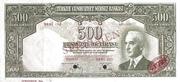 500 Lira – obverse
