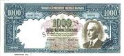 1 000 Lira – obverse