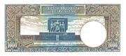 1 000 Lira – reverse