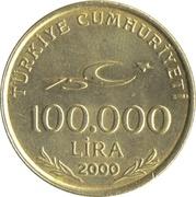 100 000 Lira -  obverse