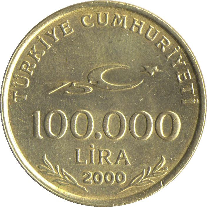 100 000 Lira